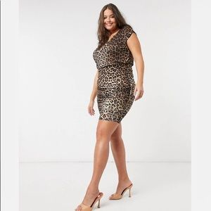 Simply B Animal Print Dress